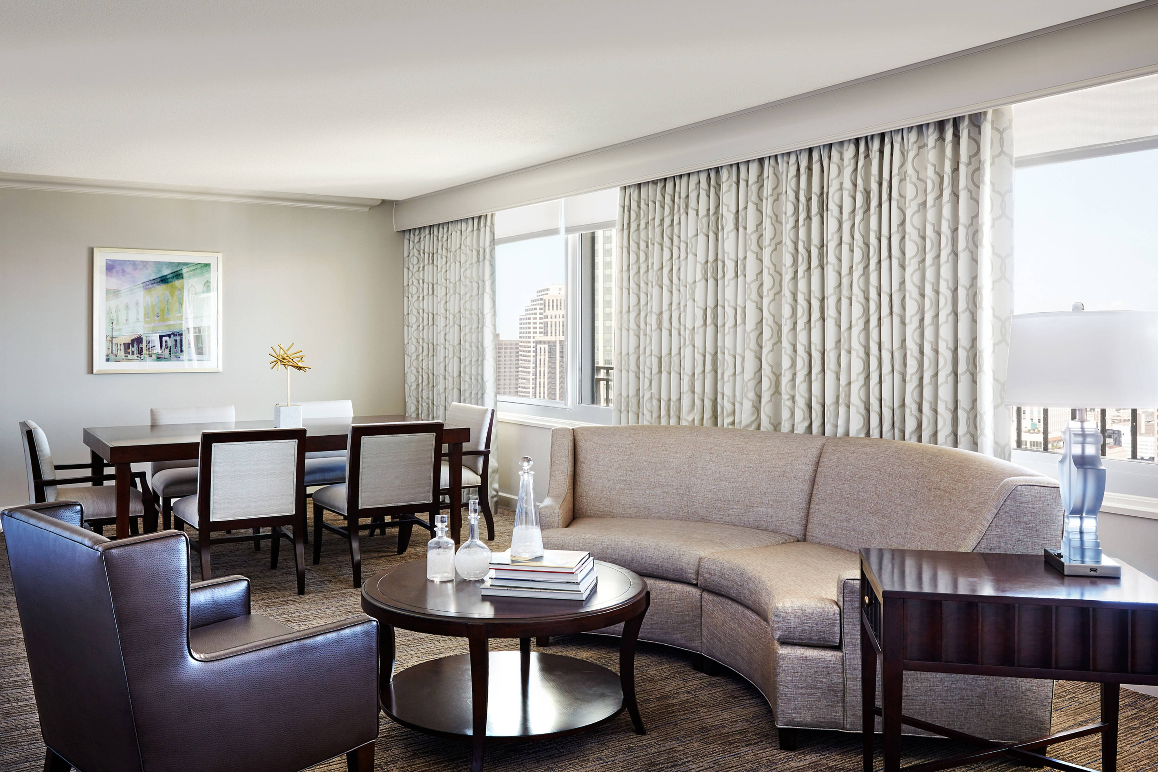 New Orleans Hotels Parlor Suite