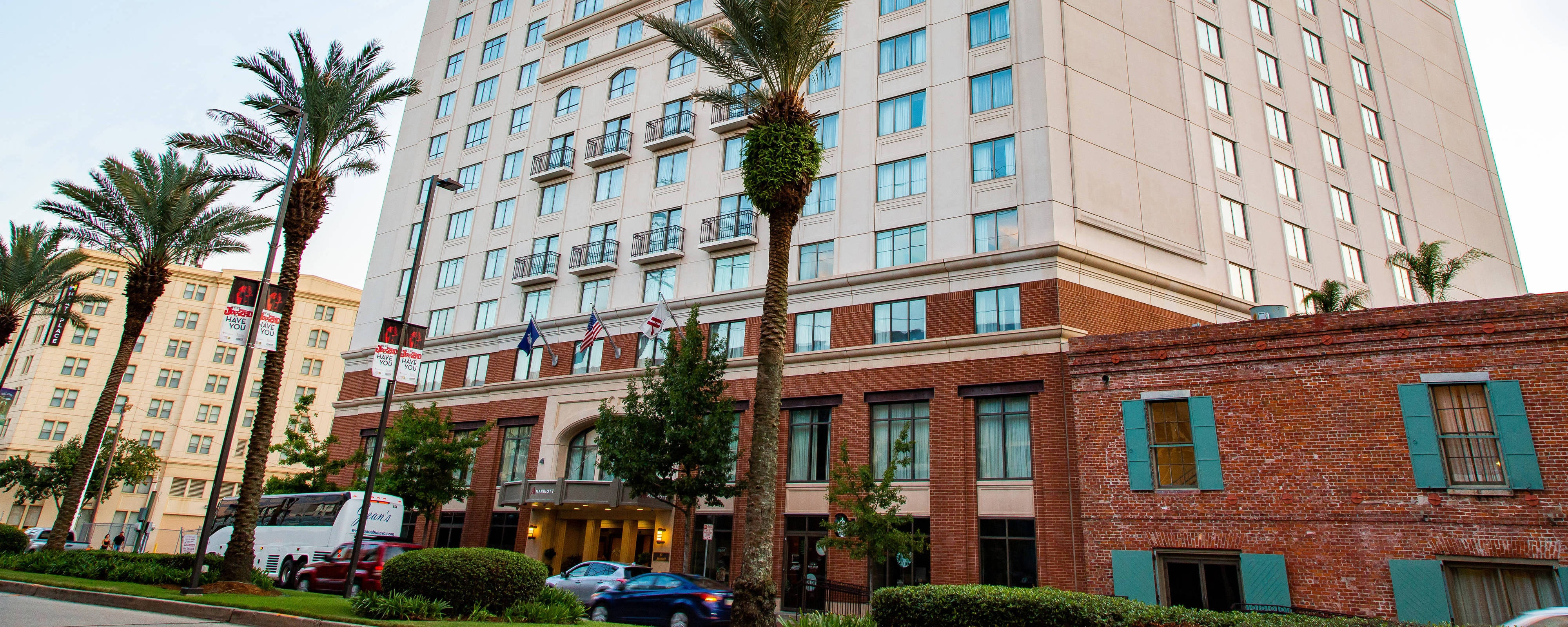 New Orleans Convention Center Hotel New Orleans Marriott At