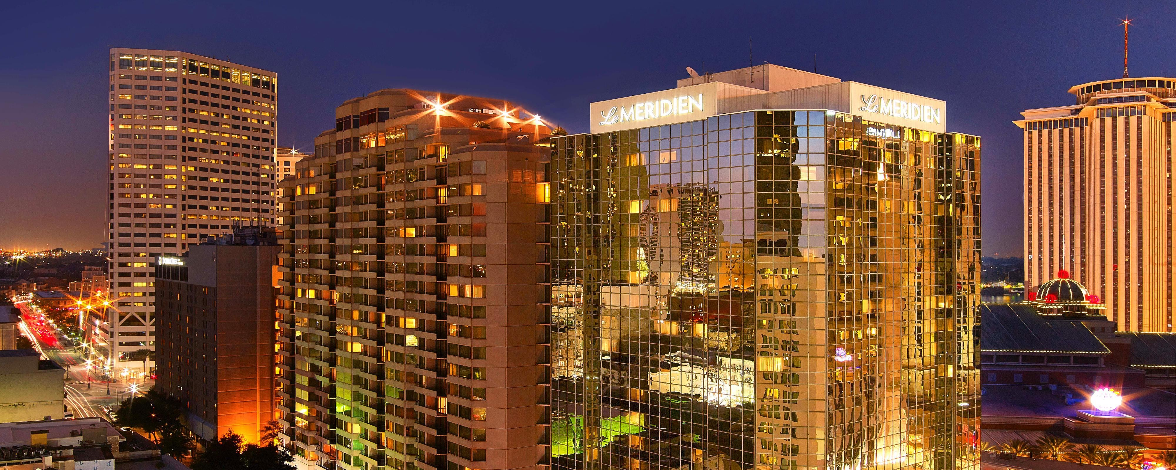 Marriott New Orleans Map.Hotel In Downtown New Orleans Louisiana Le Meridien New Orleans