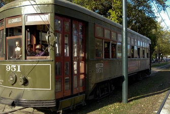 St. Charles Street Car- New Orleans Attractions