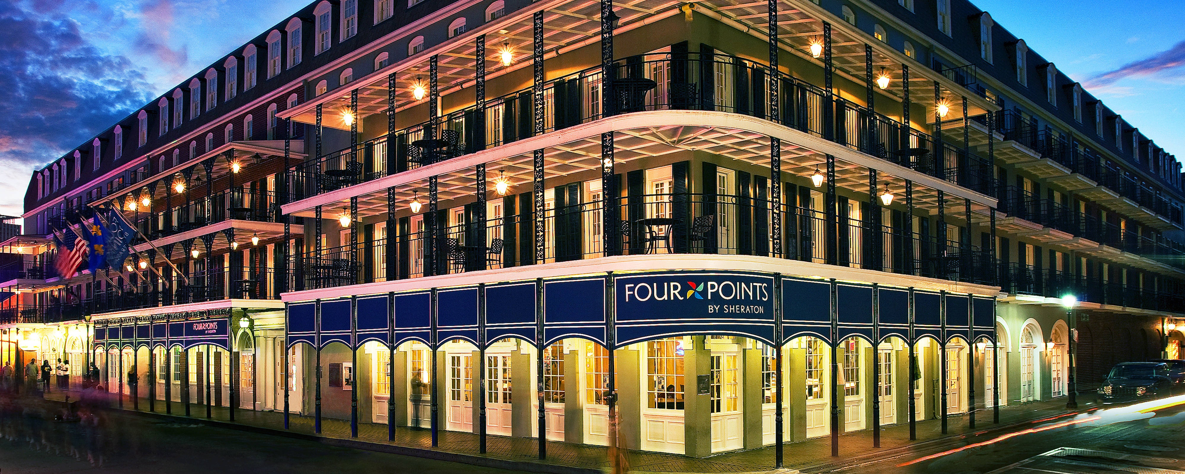 Hotel on Bourbon Street in New Orleans | Four Points by ... on map of excalibur, map of cherokee street, map of sodium street, map of hard rock, map of dunes, map of romance, map of new haven street, map of americana, map of julia street cruise terminal, map of st. charles avenue, map of louis armstrong park, map of driftwood, map of geary street, map of holiday, map of boulder station, map of harrah's, map of eclipse, map of sam's town, map of blue bayou water park, map of tchoupitoulas street,