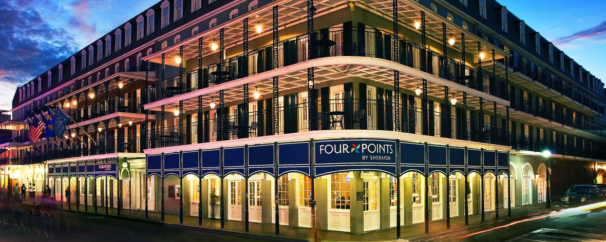 French Quarter Hotels >> French Quarter New Orleans Hotel Four Points By Sheraton