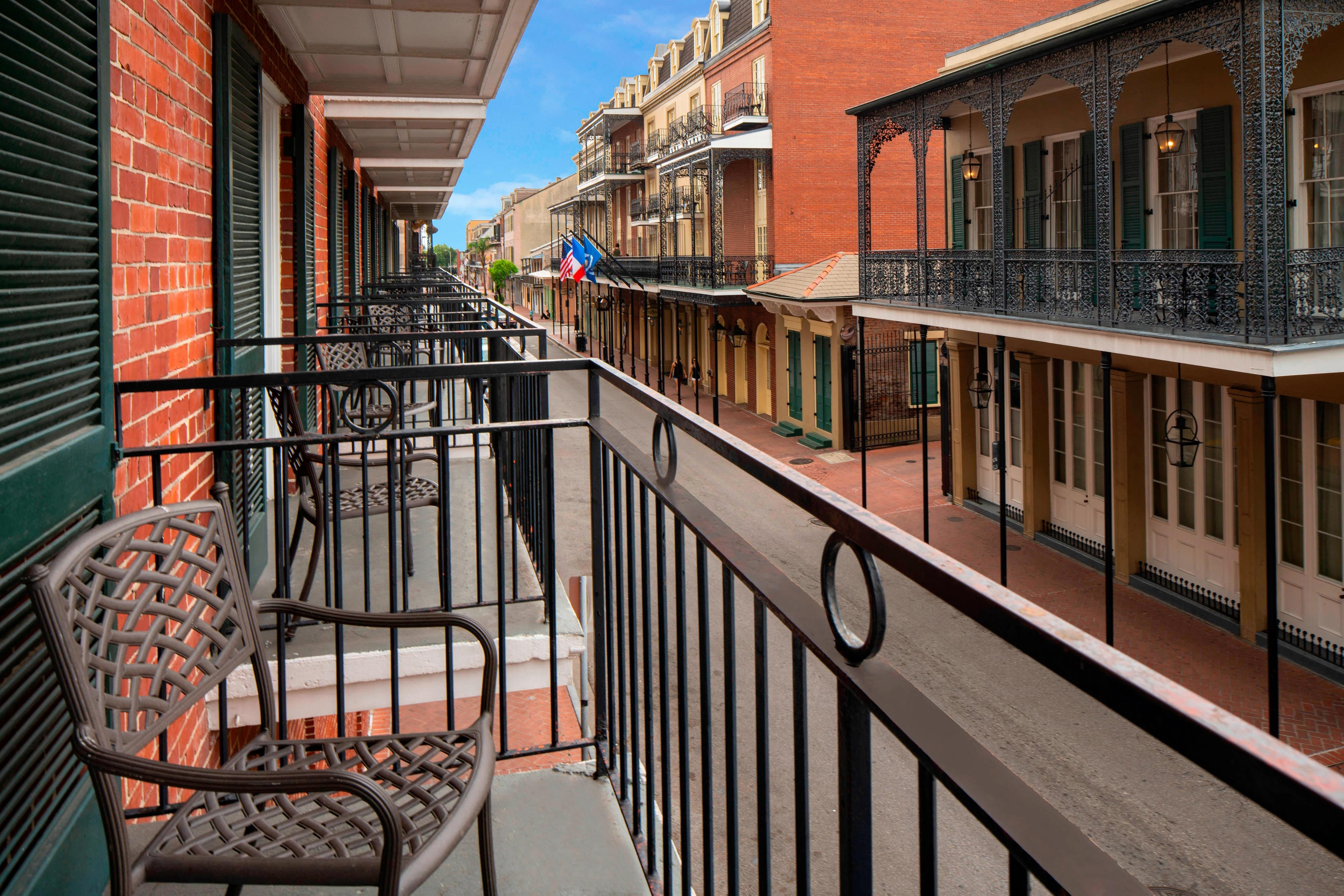 Toulose Street Balcony