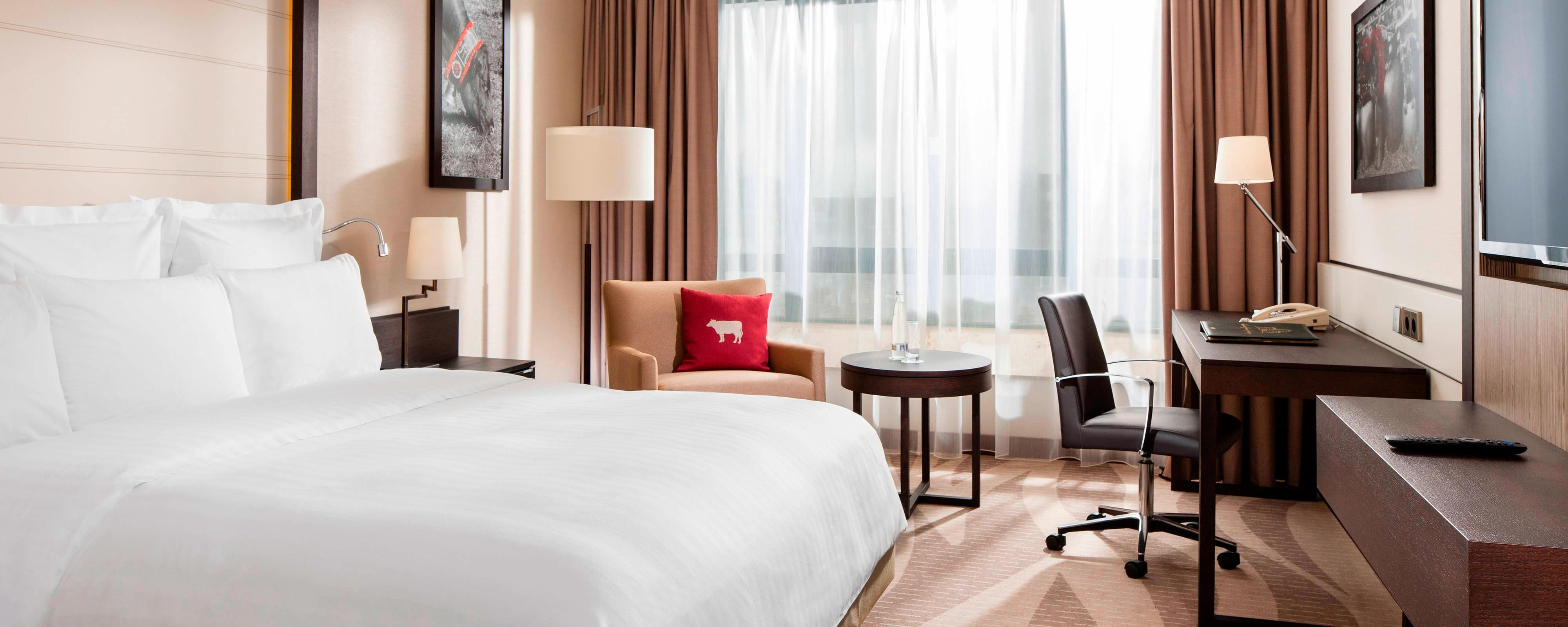 Habitación del Munich Airport Marriott Hotel