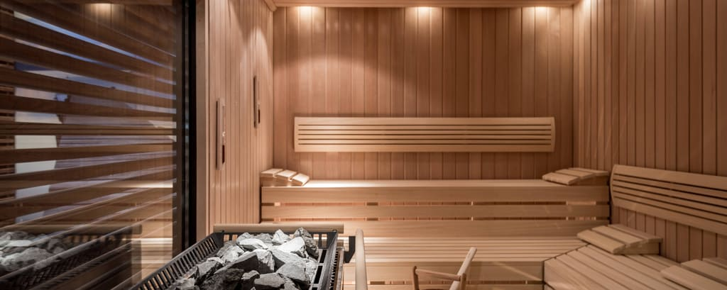 Finnish sauna in Munich spa