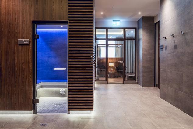 Munich spa steam bath
