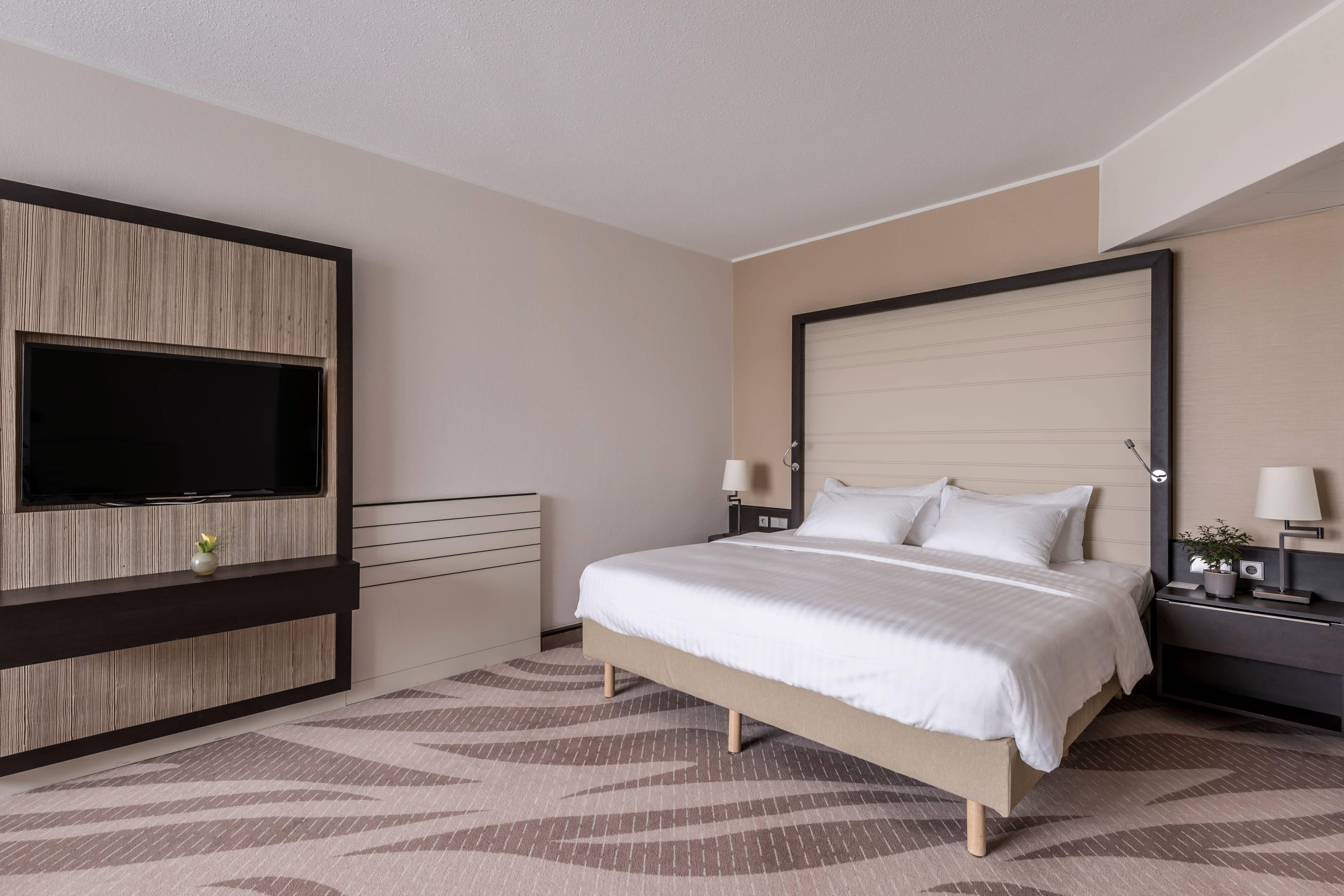 Chambre supérieure avec lit queen size