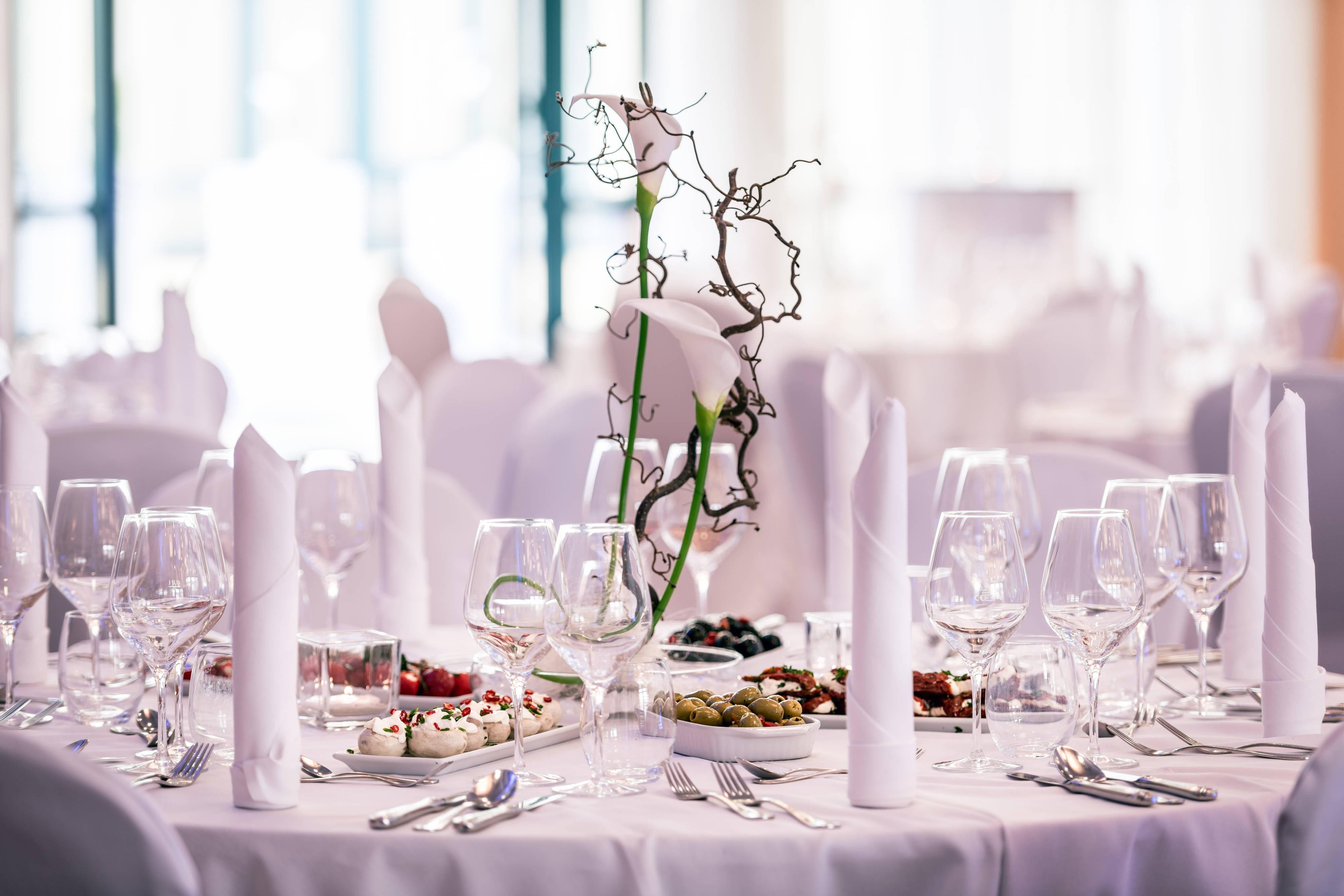 Réception de mariage de l'hôtel de Munich