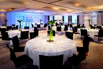 Ballroom Munich Marriott Hotel