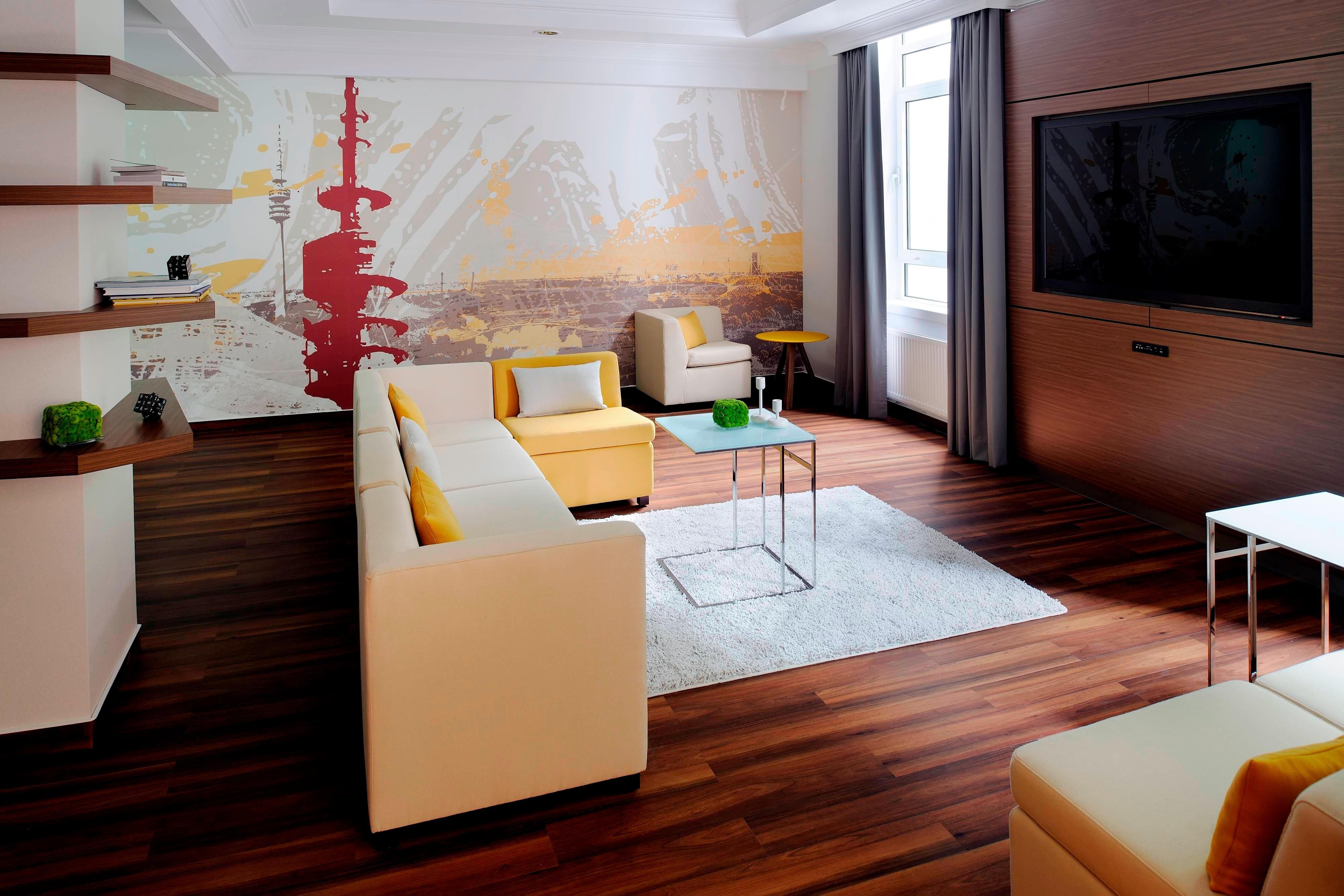 Meetingraum im Marriott Hotel, München