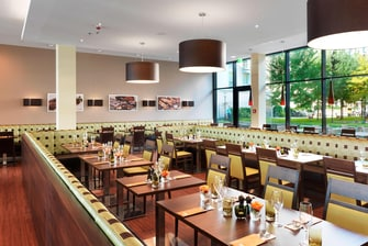 Barbecue Munich Marriott Courtyard Hotel