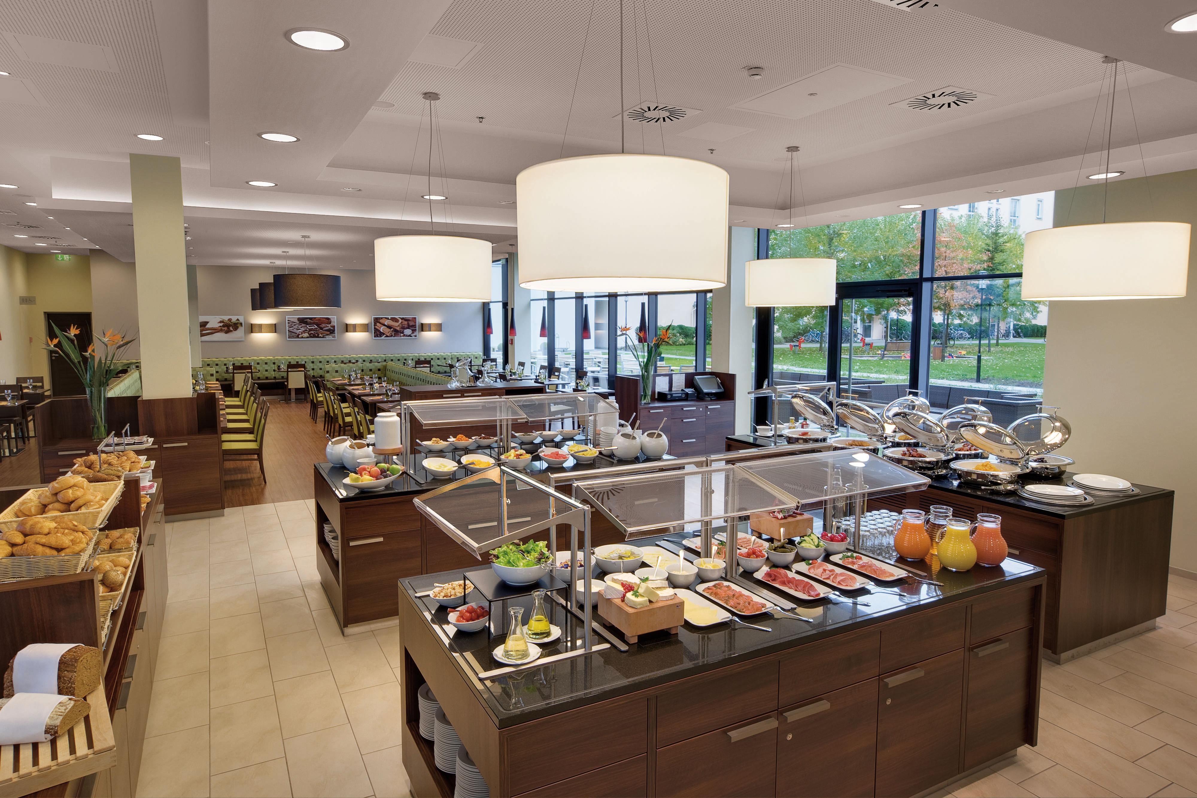 Petit déjeuner à l'hôtel Courtyard by Marriott de Munich