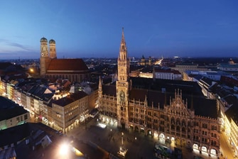 Marienplatz Munich city attraction