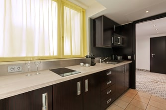Deluxe Suite - Kitchen