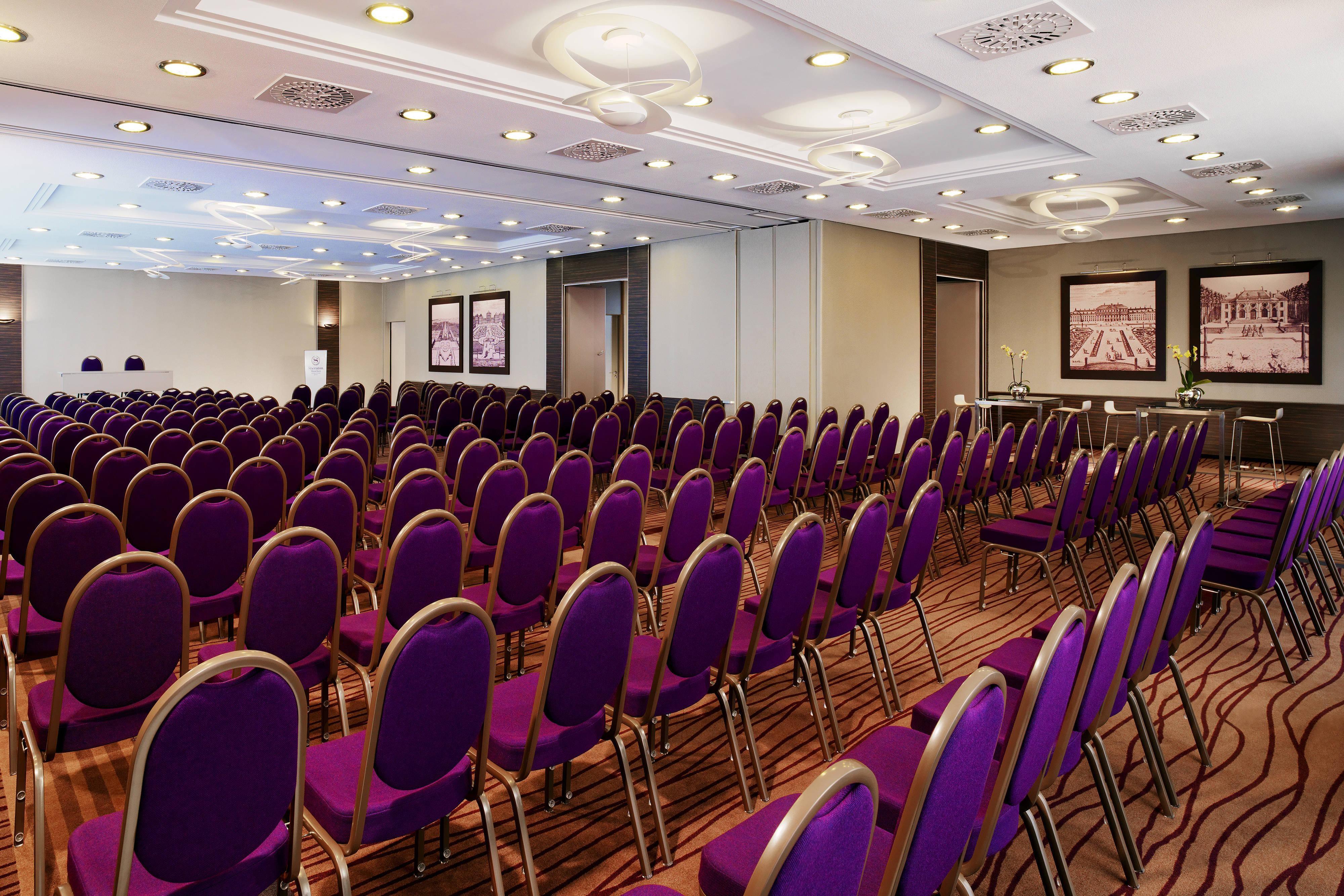 Sala para reuniones Effner, teatro