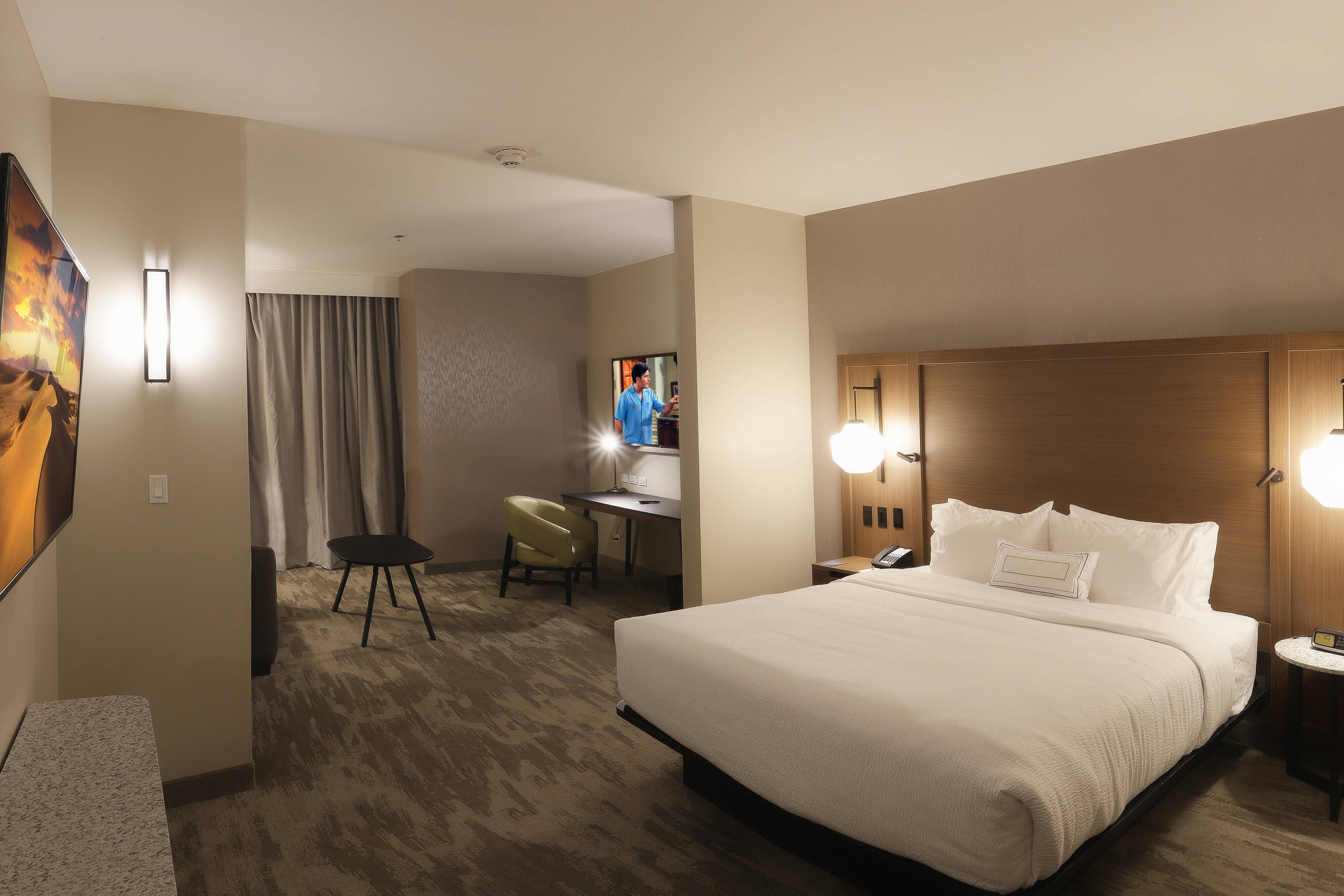 Suitecon cama tamaño King - Dormitorio