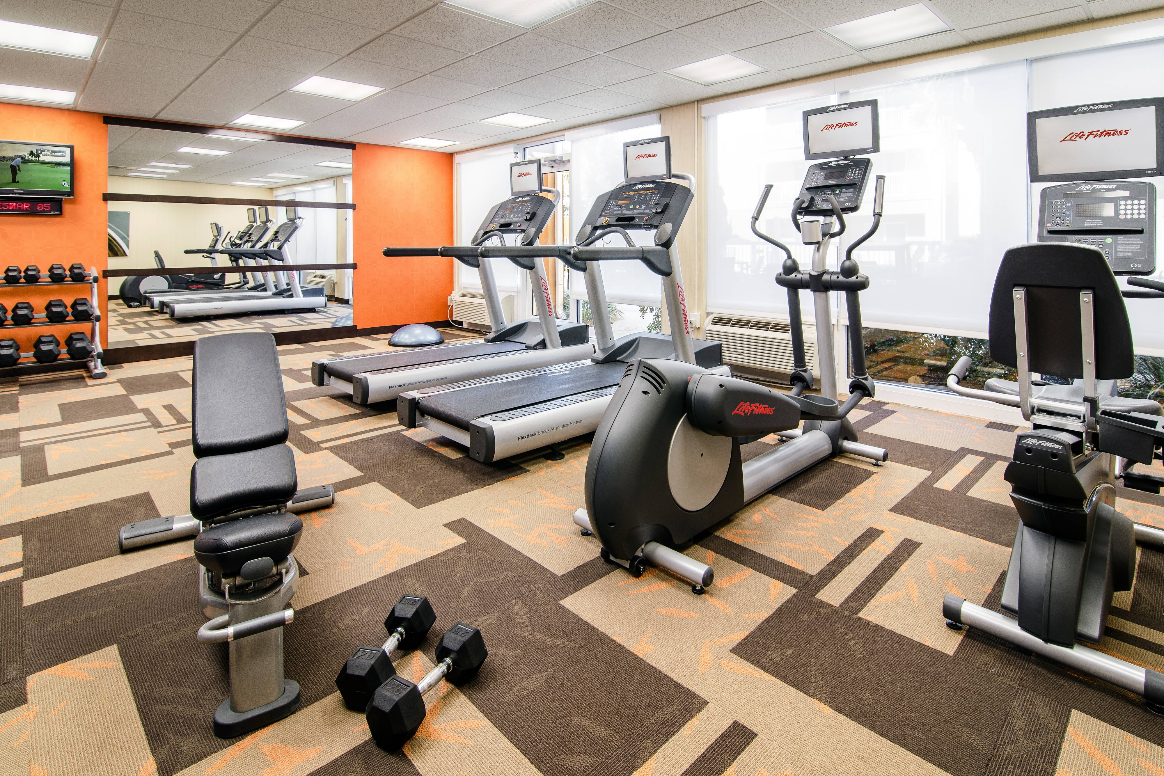 myrtle beach hotel fitness center