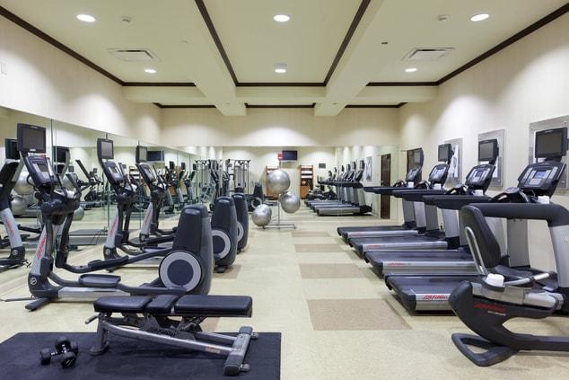 Myrtle Beach hotel fitness center