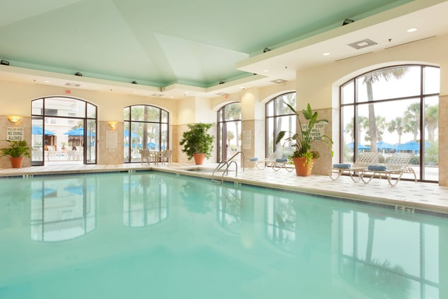 Myrtle Beach hotels indoor pool