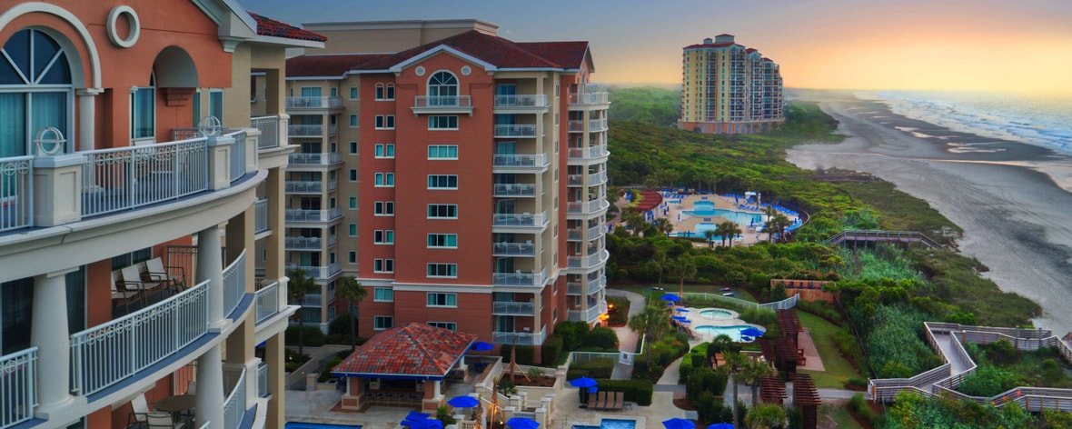 Luxury Resort In Myrtle Beach Sc Marriott S Oceanwatch
