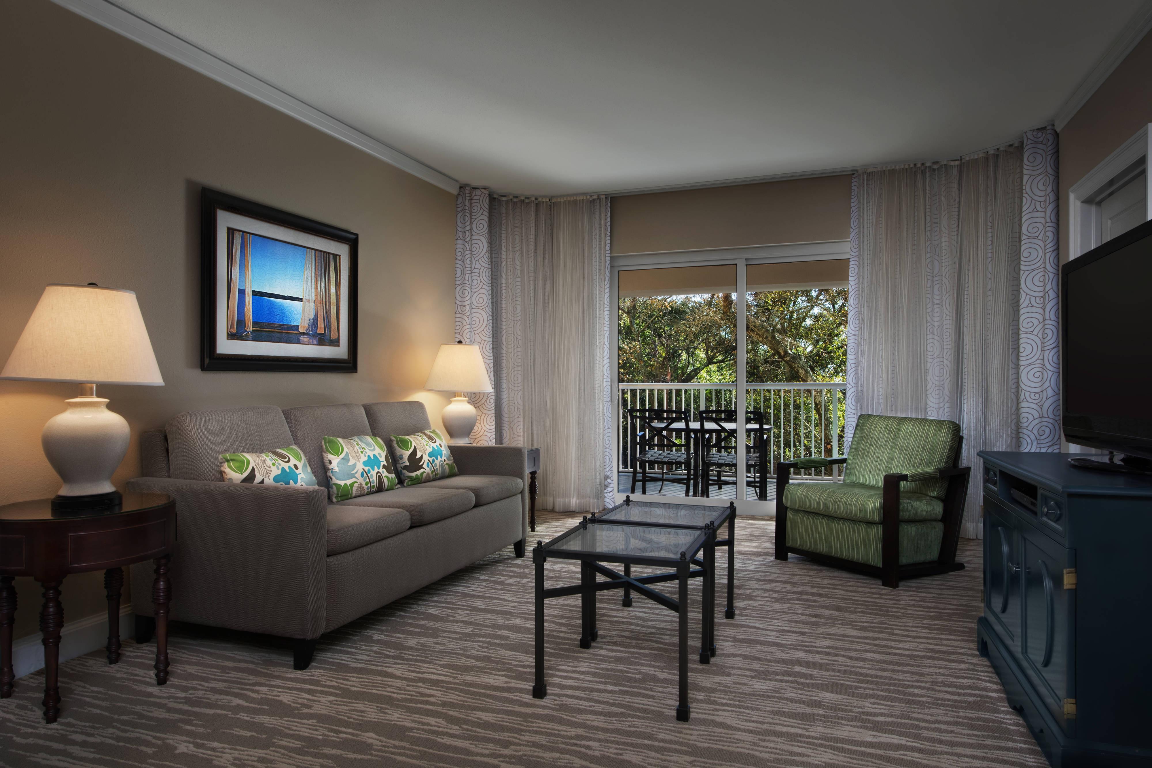 Garden View Villa - Living Area