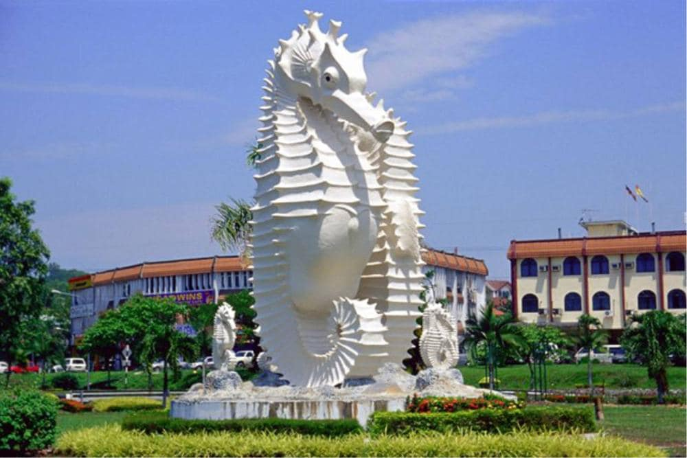 Seahorse is Resort's and Miri's Mascot