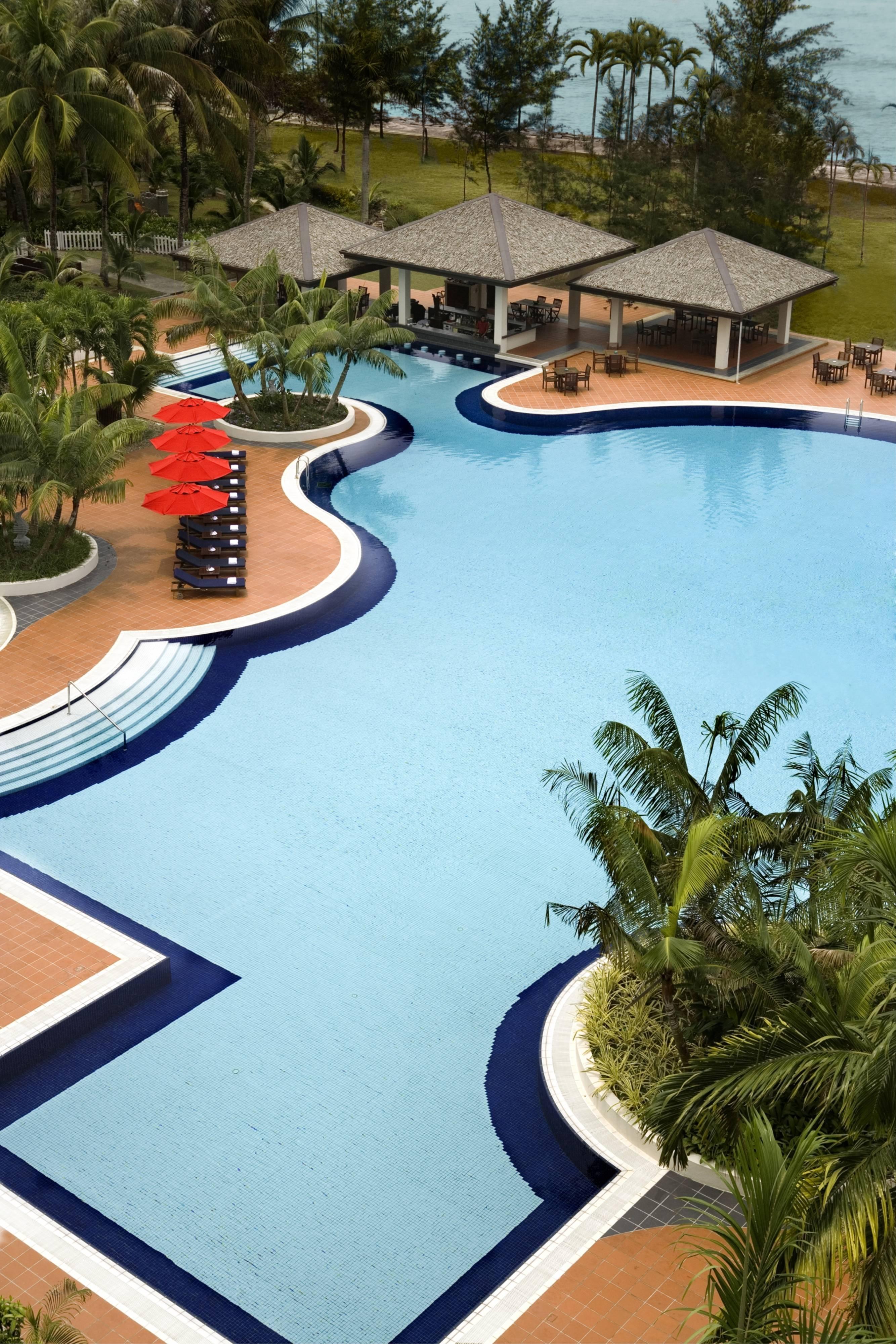 Swimming Pool at Miri Marriott