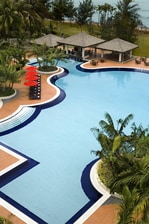 Swimming Pool at Miri Marriott