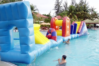 Miri Marriott Inflatable Pool Playground