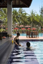 Miri Marriott Pool Swim-up Bar