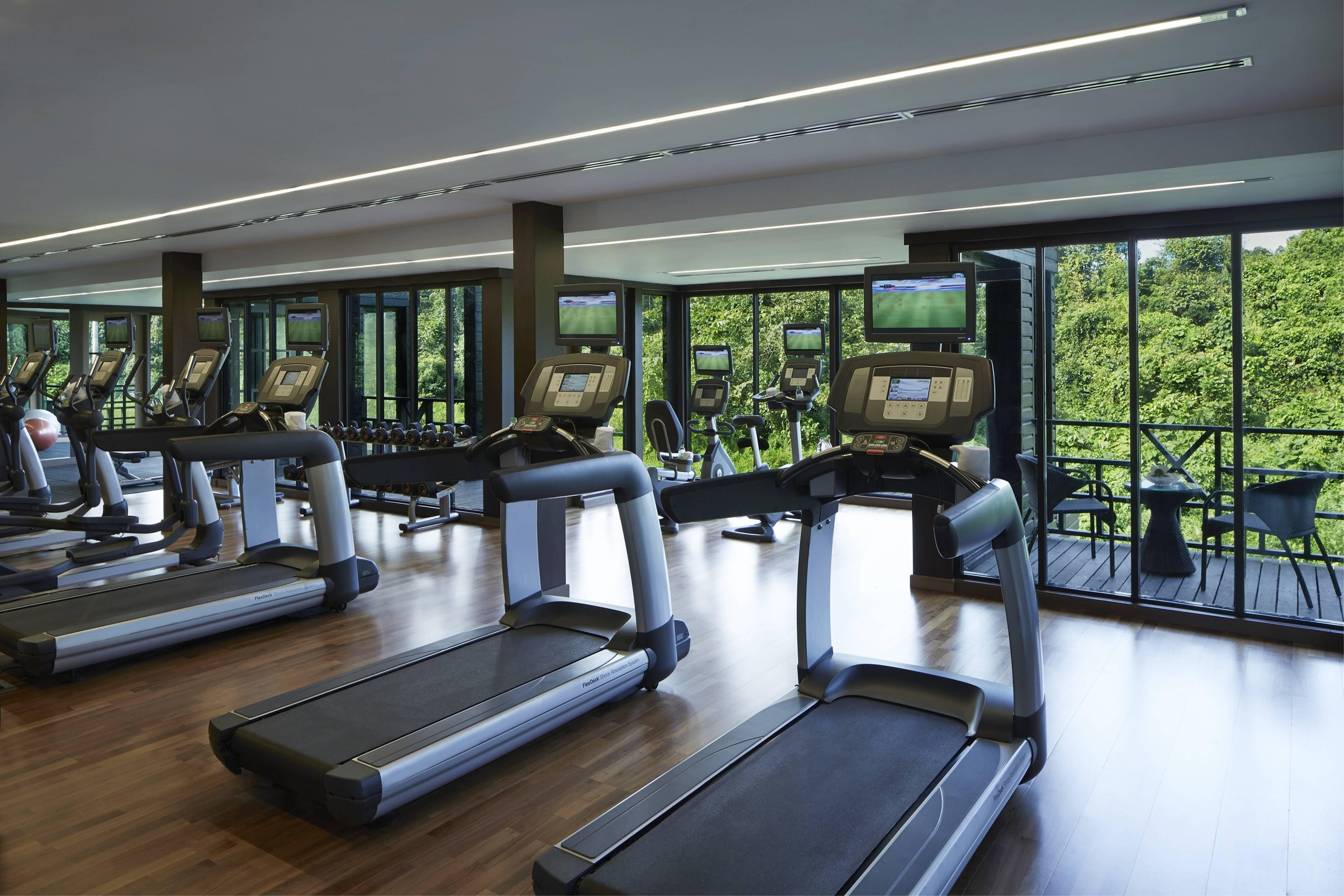 Gymnasium Mulu Marriott