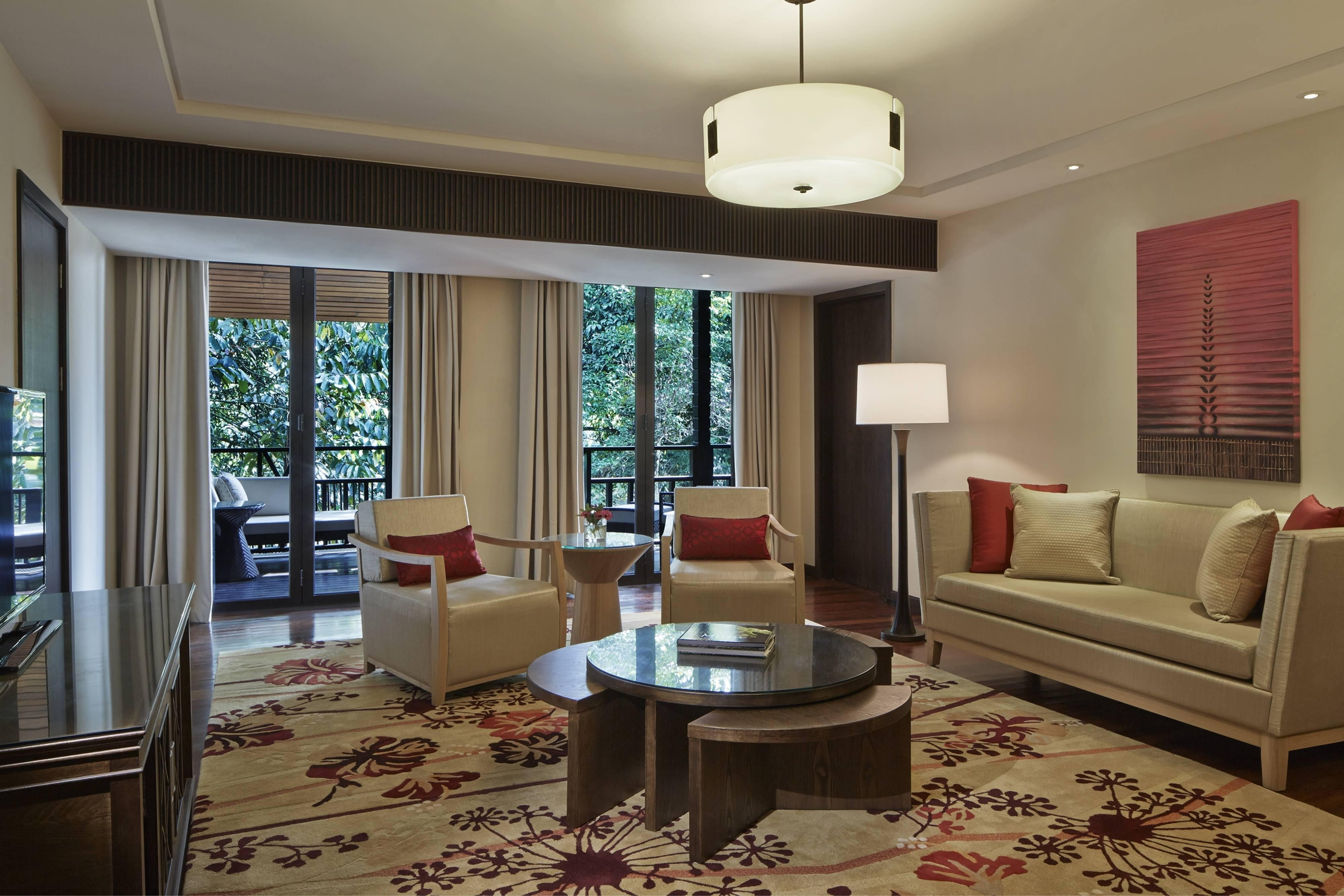 Melinau Suite Living Room Mulu Marriott