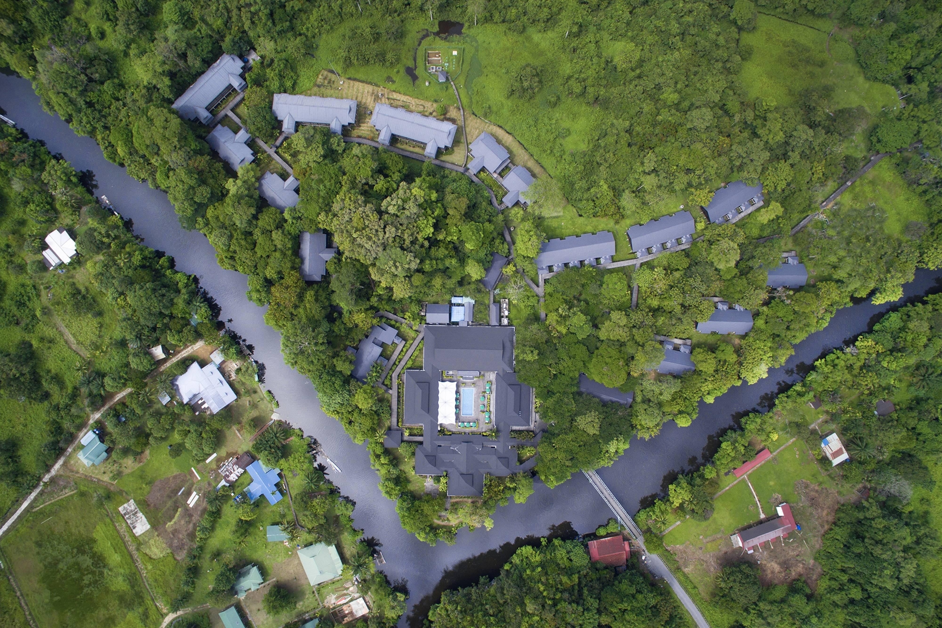 Bird's Eye View Exterior Mulu Marriott