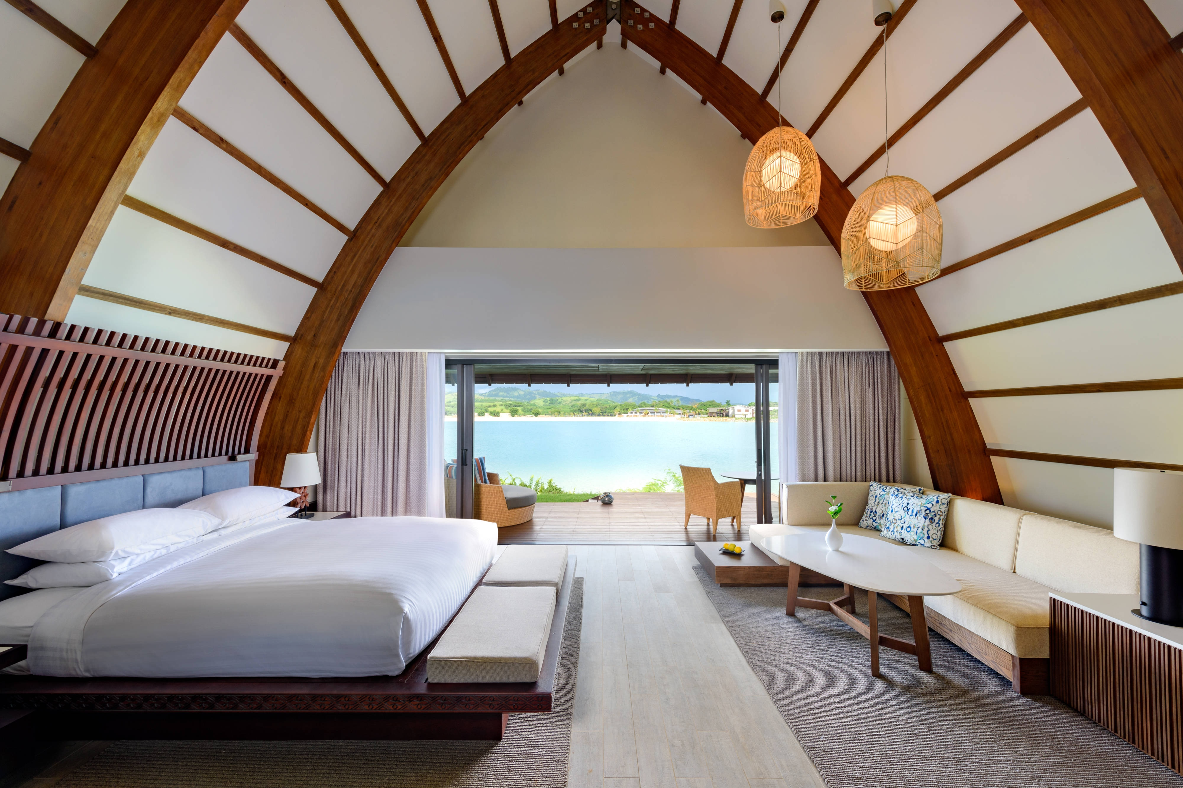 Lagoon Bure Villas - Bedroom