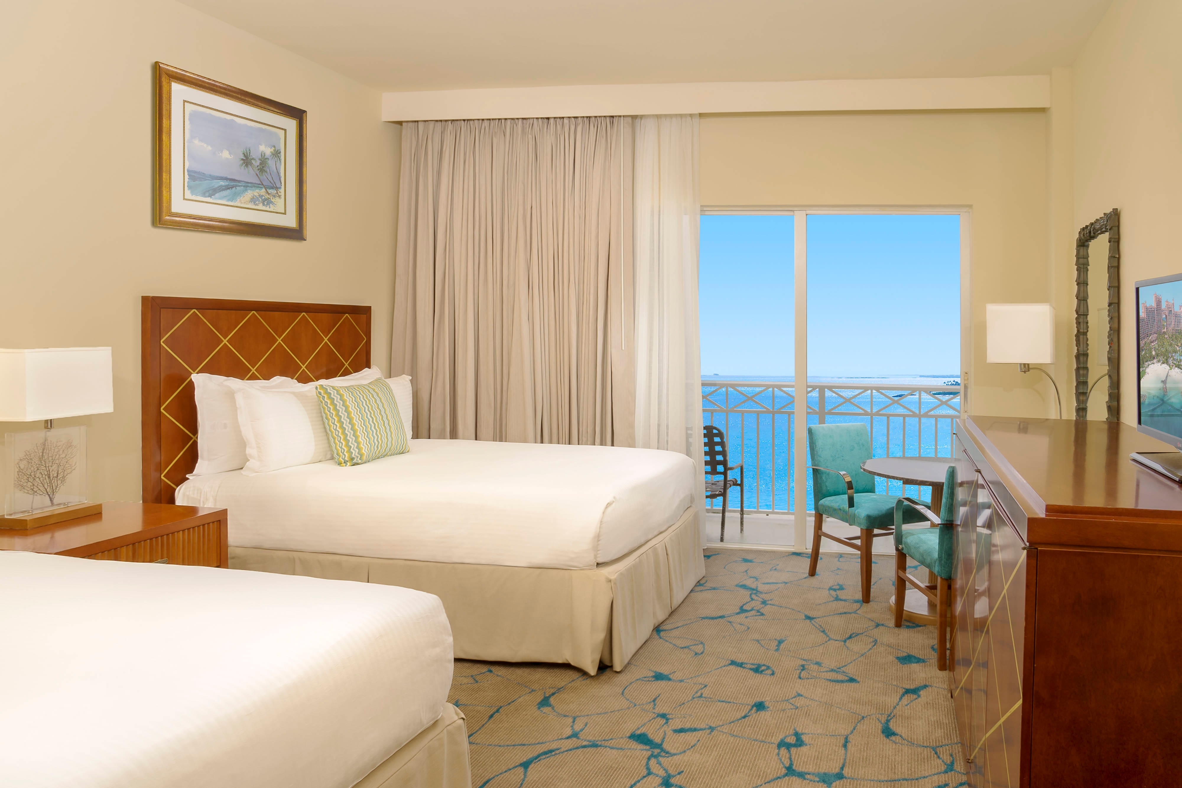 Ocean view hotel rooms on paradise island the beach at for Terrace view room atlantis