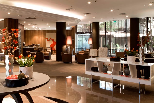 French Riviera hotels lobby lounge