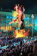 Fête pour le carnaval de Nice