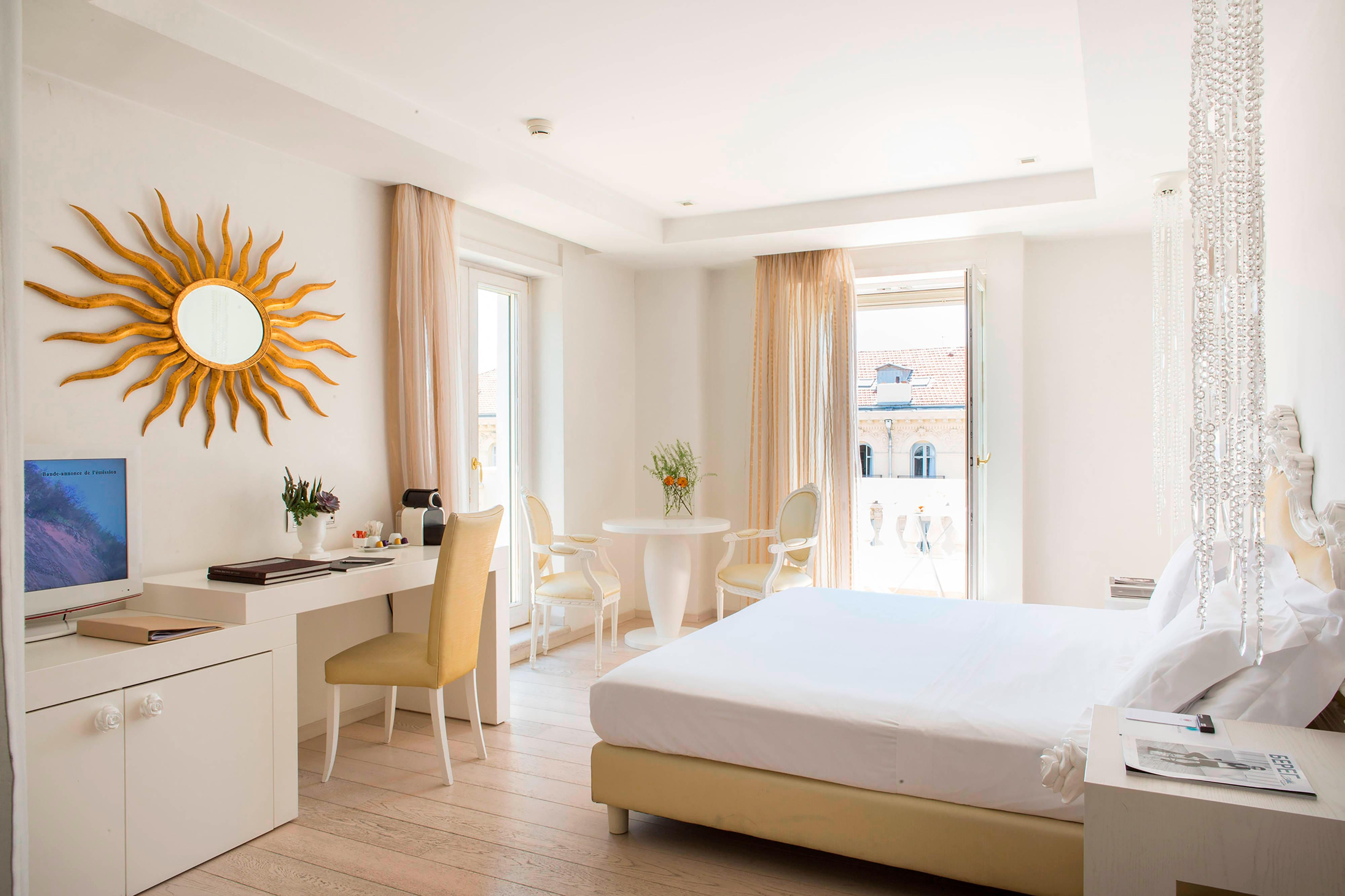 Luxury hotel room French Riviera