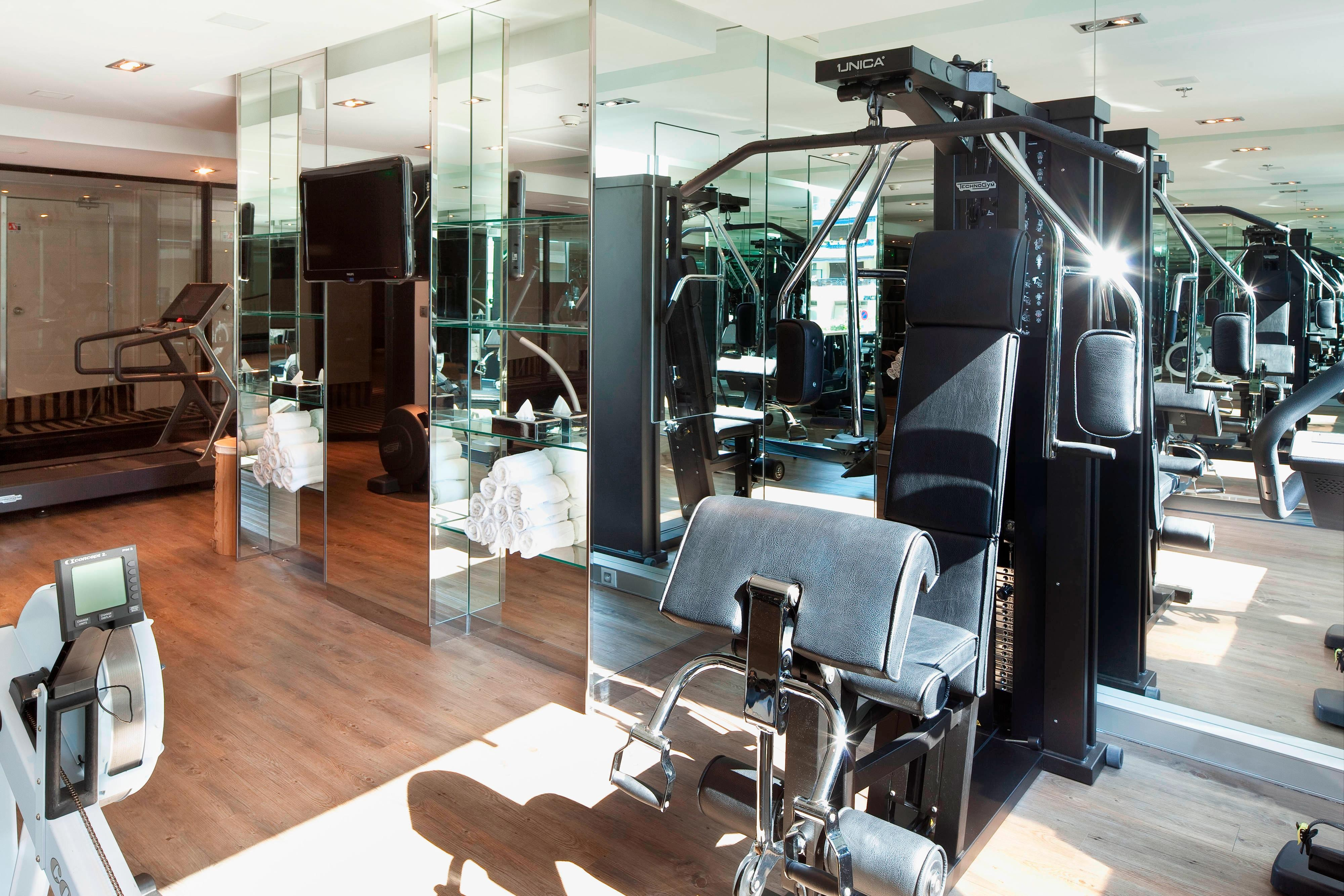 Cannes hotel with fitness center