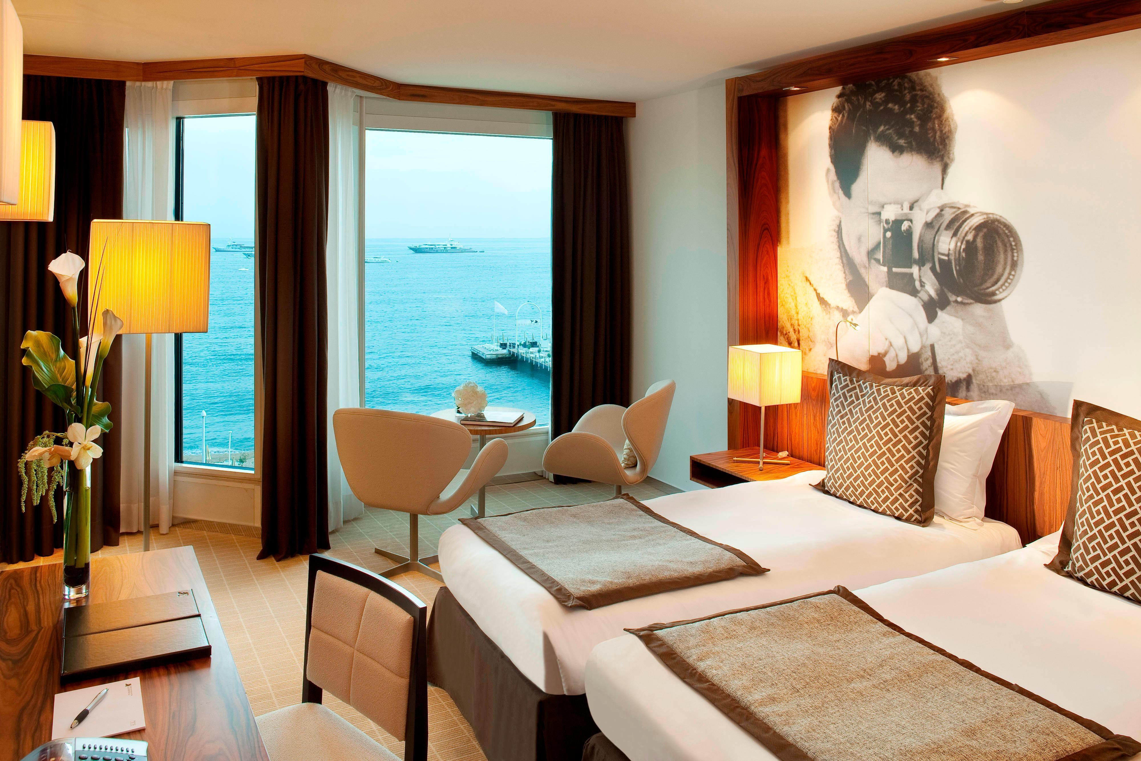 Chambres d'hôtel cinq étoiles à Cannes