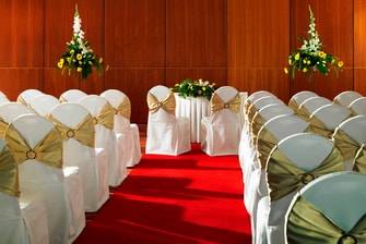 European Suite – Civil Ceremony Setup
