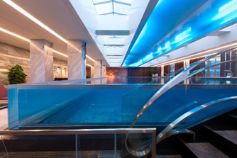 Indoor Infinity Pool