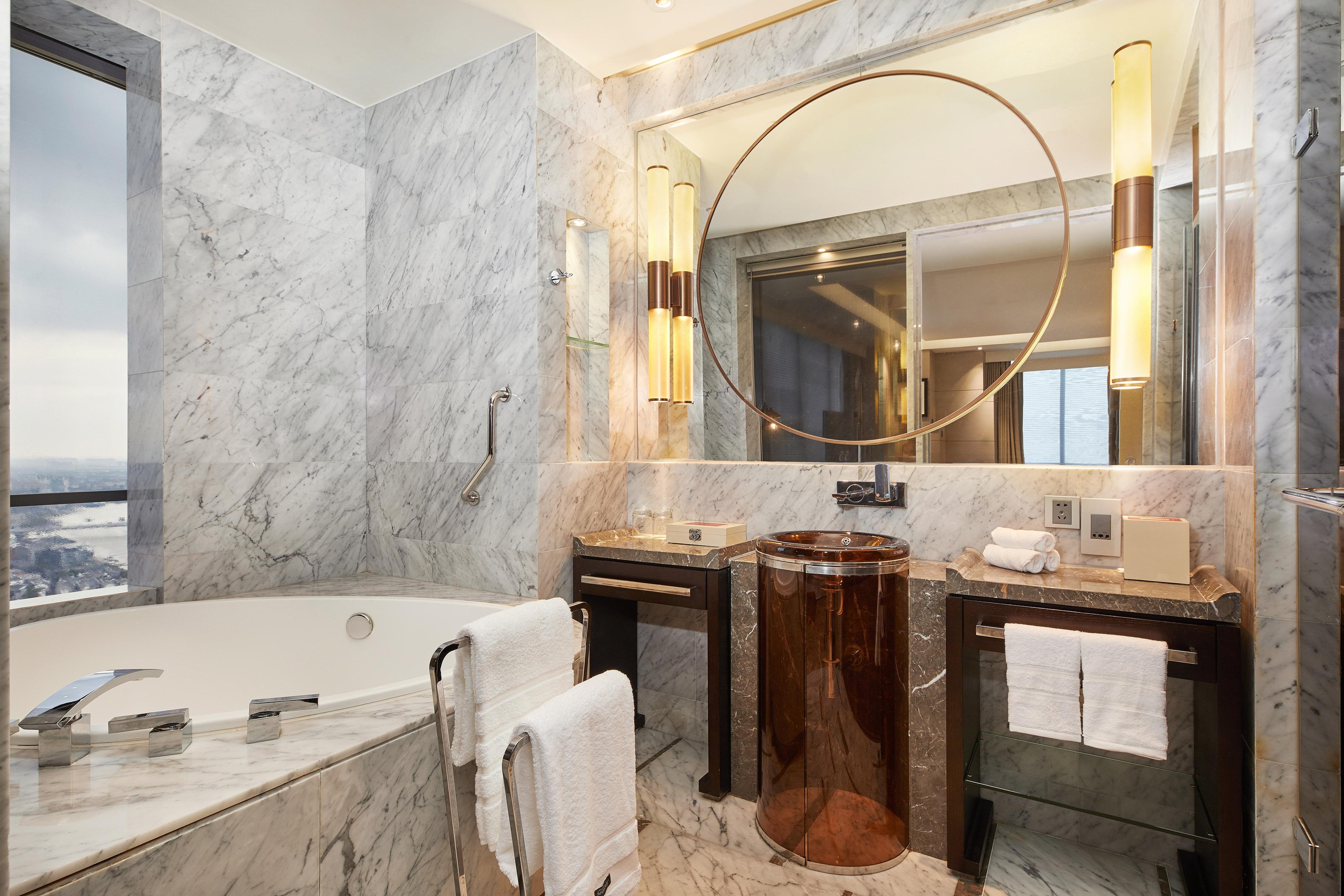 Westin Zimmer mit zwei Einzelbetten – Bad