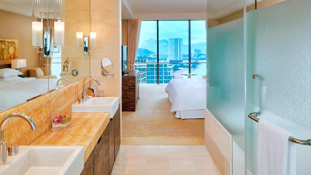 Apartamento de dos habitaciones - Baño