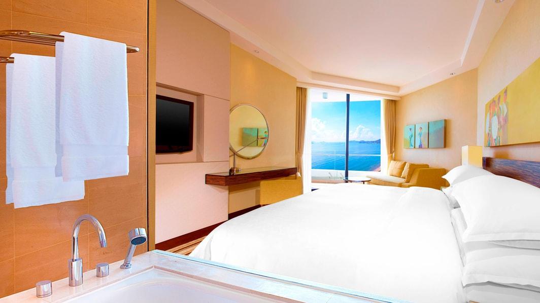 Chambre Deluxe avec vue sur mer