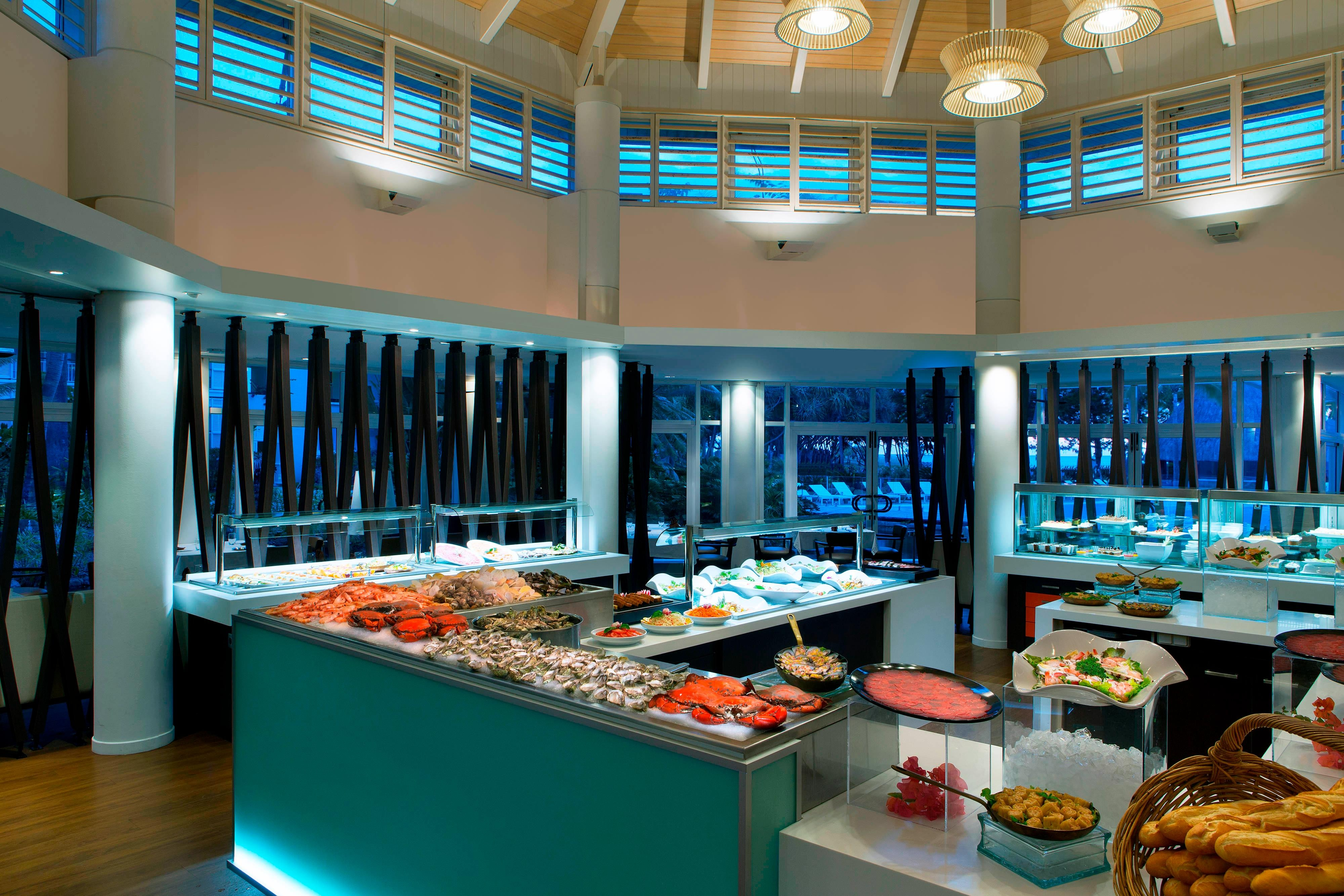 Le Sextant Restaurant seafood Buffet