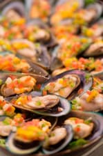 Restaurant Le Sextant, spécialités de moules