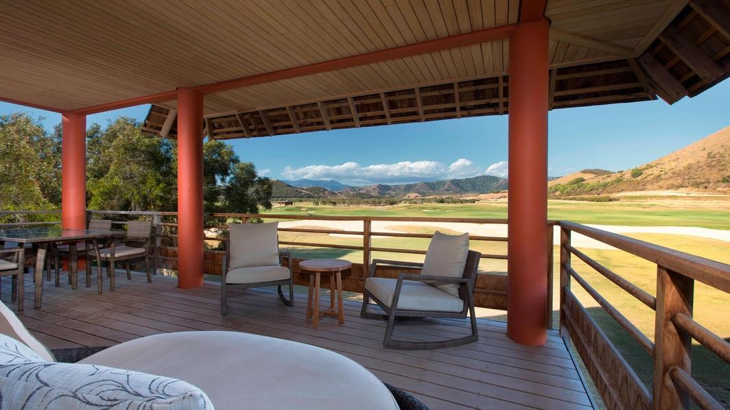 Superior Golf 2 - Schlafzimmer Suite - Terrasse und Aussicht