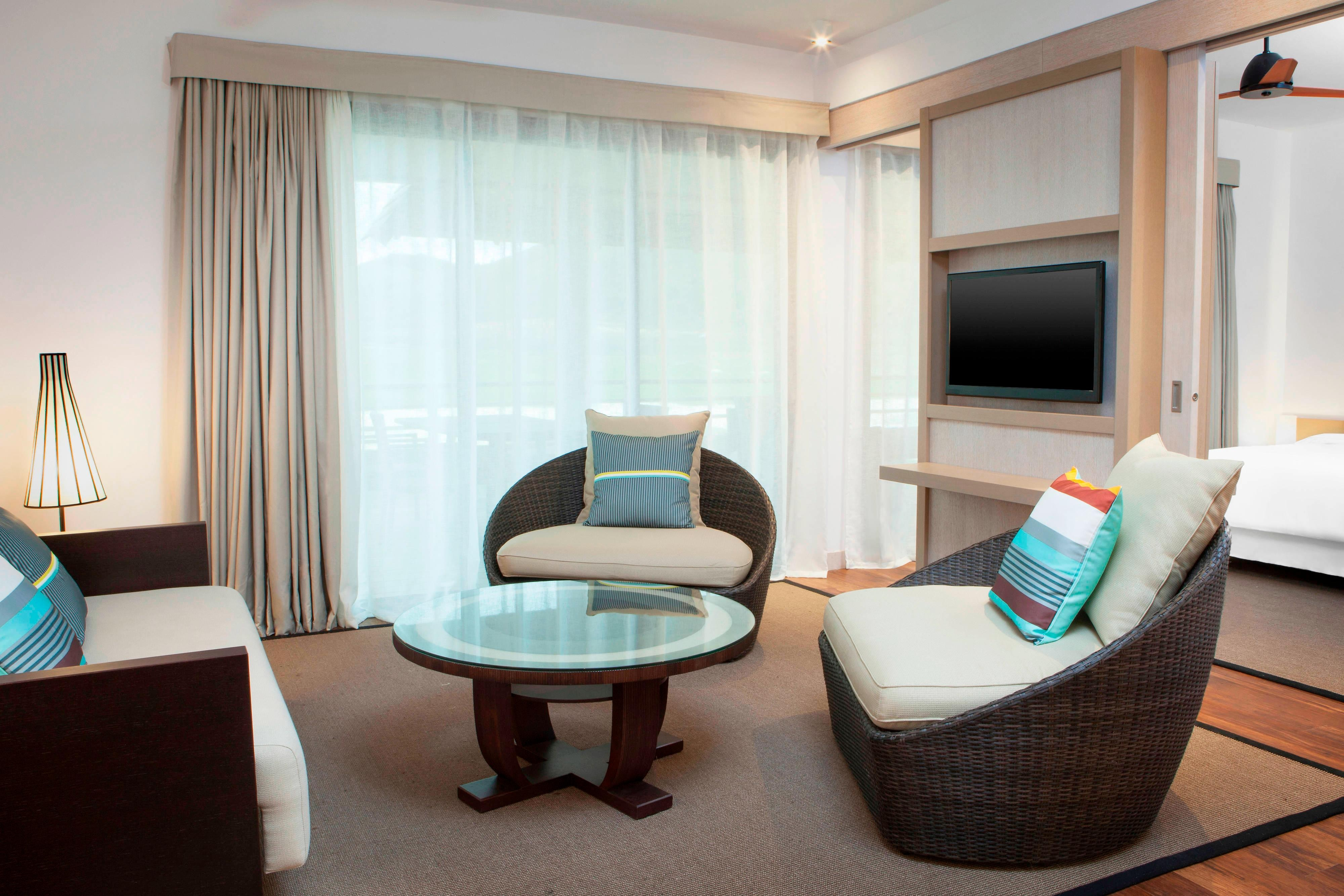 Traditionelle Domain- oder Superior Golf Suite - Lounge-Bereich