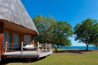 Beachfront Bungalow Exterior and View